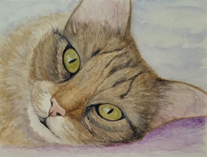 Nala watercolor