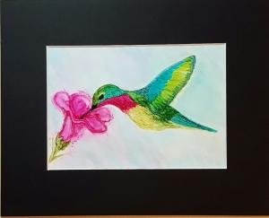 Spring Hummingbird Inks